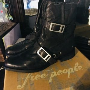 NWT Free People Moto Boots